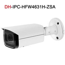 DH IP 6MP IPC-HFW4631H-ZSA с кронштейном безопасности камеры видеонаблюдения 2,7 мм-13,5 мм моторизованный зум Встроенный микрофон с SD слот ip-камера