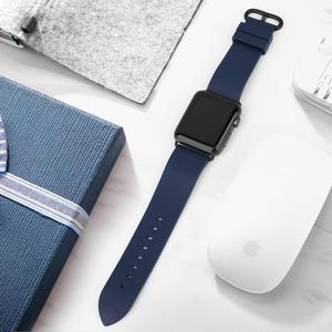 Image 3 - Izle aksesuarları serisi 5 4 3 2 1 için Apple saat kordonları 44mm 42mm & Apple saat kayışı 40mm 38mm kauçuk florokarbon saat kayışı