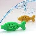 Baby care Bath & Shower Produto Termômetros de Água Flutuador Plástico Brinquedo Do Banho do bebê da menina do menino Tester Promoção Da Criança Peixe Flutuante bonito