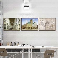 Home Decoration Art Wall Pictures Fro Living Room Poster Print Canvas Paintings Netherlandish Pieter Jansz. Saenredam