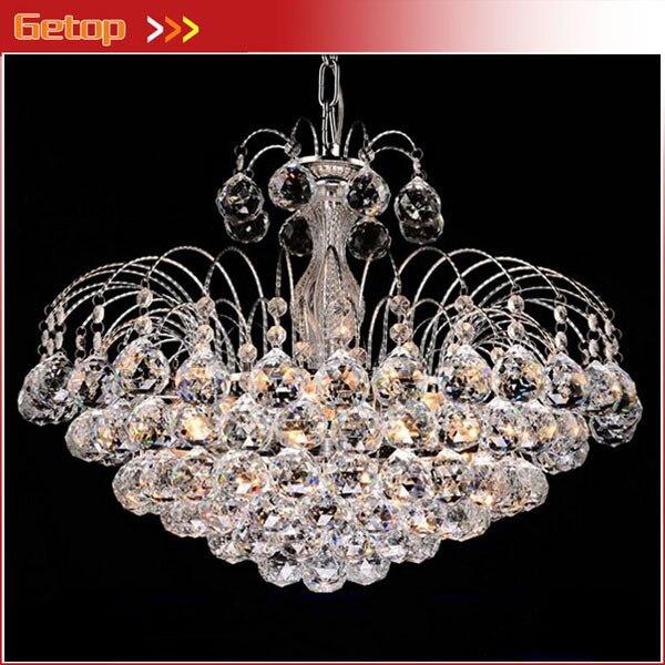 beste prijs luxe kristallen kroonluchter k9 kristallen lamp