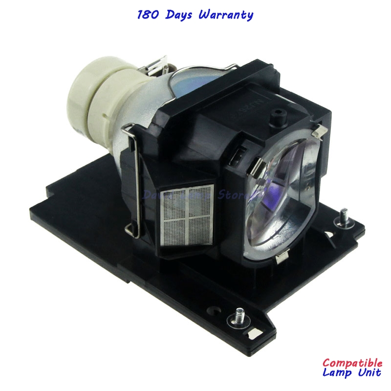 Free Shipping DT01021 High Quality Replacement Projector Bare Lamp with Housing for HITACHI CP WX3011N WX3014WN X2010N X2011N in Projector Bulbs from Consumer Electronics