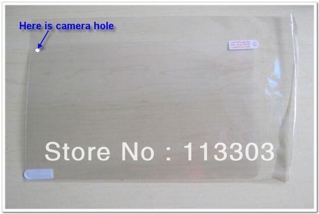 10 шт. с розничной посылка Универсальный 9 дюймов ЖК-дисплей Ясно Полный Экран протектор с Камера отверстие Размеры 232x141 мм для 9-дюймового планшетного ПК