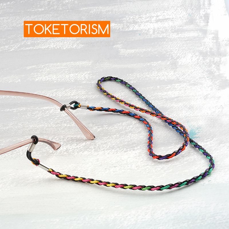 Toketorism chain for glasses women sunglasses strap vintage strings for women 39 s glasses TM33 in Eyewear Accessories from Apparel Accessories