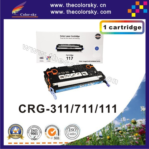 цена на (CS-H7580-7583) toner laserjet printer laser cartridge for Canon CRG-311 CRG-711 CRG-111 CRG311 CRG711 CRG111 311 711 111 6k/4k