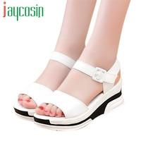 High Quality Women S Summer Sandals Shoes Peep Toe Low Shoes Roman Sandals Ladies Flip Flops