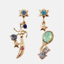 Anime Sailor Moon Cosplay Earring Uranus Neptune Talisman Stud Earrings Accessories Prop