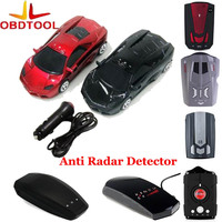 12V Car English Russian Voice LED Display Detector Electronic Dog Car Speed Testing Driving Safely Avoiding