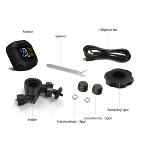 Image 5 - Waterproof Lightning proof General Wireless TPMS Motorcycle Tire Pressure Monitoring System For Two wheeled Motorcycle Motorb