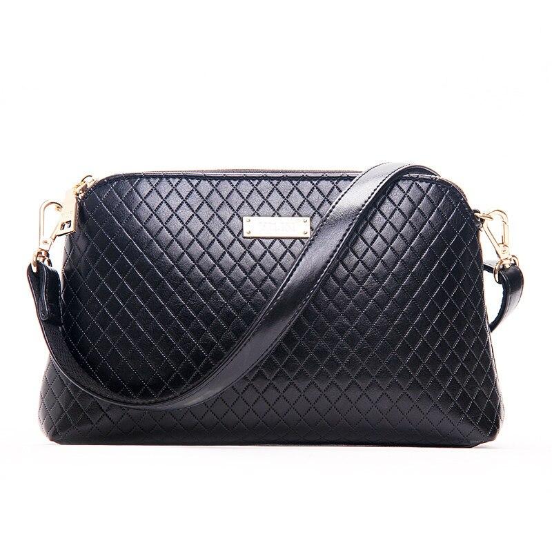Trendy Quilted Bag Women Classy Shell Shoulder Bag Classic Diamond Lattice Beige Shoulder Bag Ladies Plaid