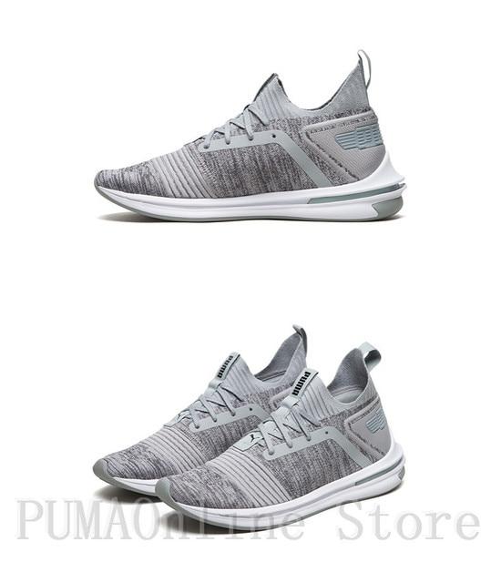 3266f60cf480 2018 Original PUMA Shoes Men s IGNITE Limitless SR evoKNIT Sneaker Runs  Badminton Shoes Size EUR39-44