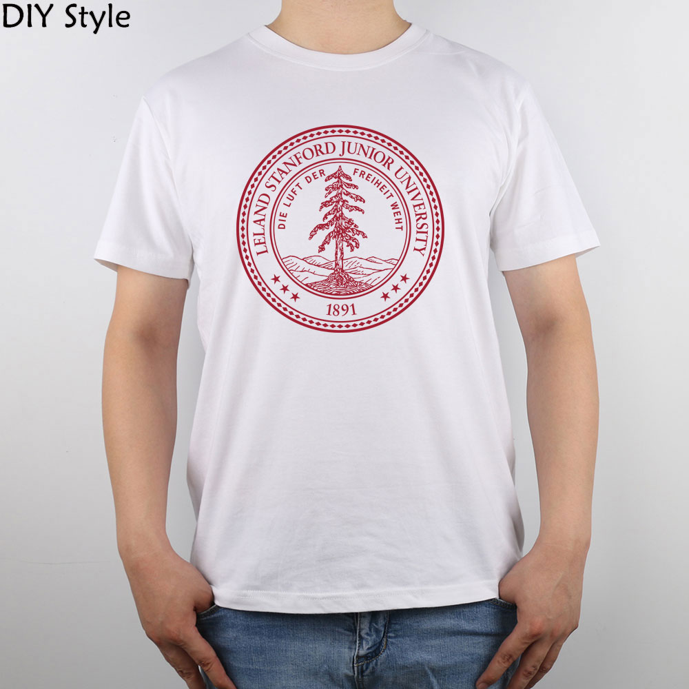 369db4f8a Stanford University Seal t shirt Top Pure Cotton Men T Shirt-in T-Shirts  from Men's Clothing & Accessories on Aliexpress.com | Alibaba Group
