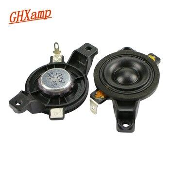 GHXAMP 1 بوصة مكبر الصوت النيوديميوم 8ohm 10 واط القماش فيلم 35 مللي متر المحمولة ثلاثة أضعاف مكبر الصوت 2 قطعة