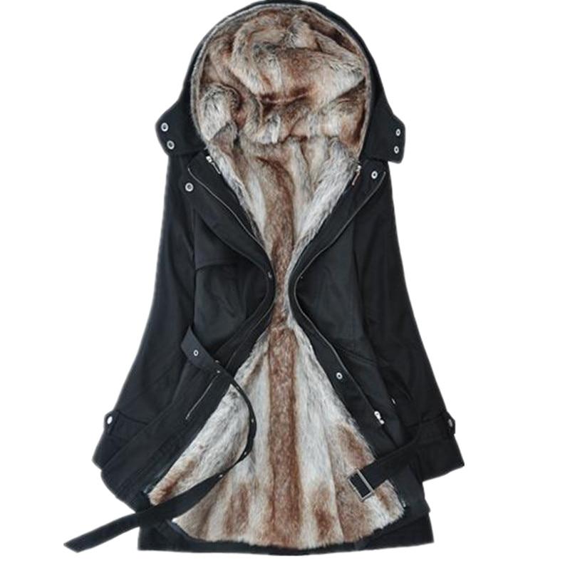 Aliexpress.com : Buy 2017 women's wool coat winter liner trench ...