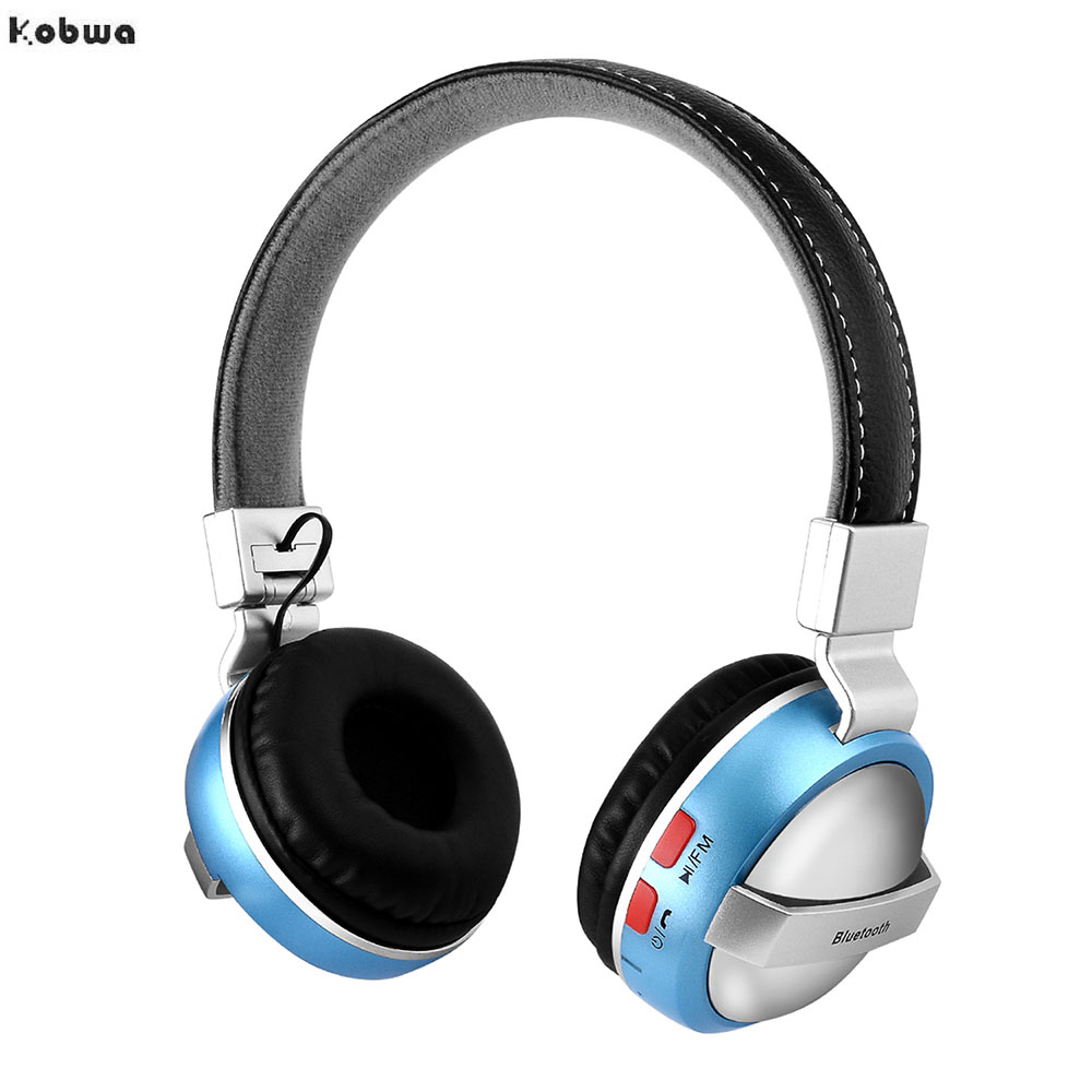 AT-BT828 Bluetooth Wireless Headphone Foldable FM Radio Micro Sd Card Mp3 Player Auriculares Fone De Ouvido 3.5mm Audio Cable