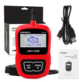 English Spanish Dutch French German Languages OBD EOBD Scan Tool Foxwell NT200 OBD2 Code Reader Scanner Lifetime Update Online