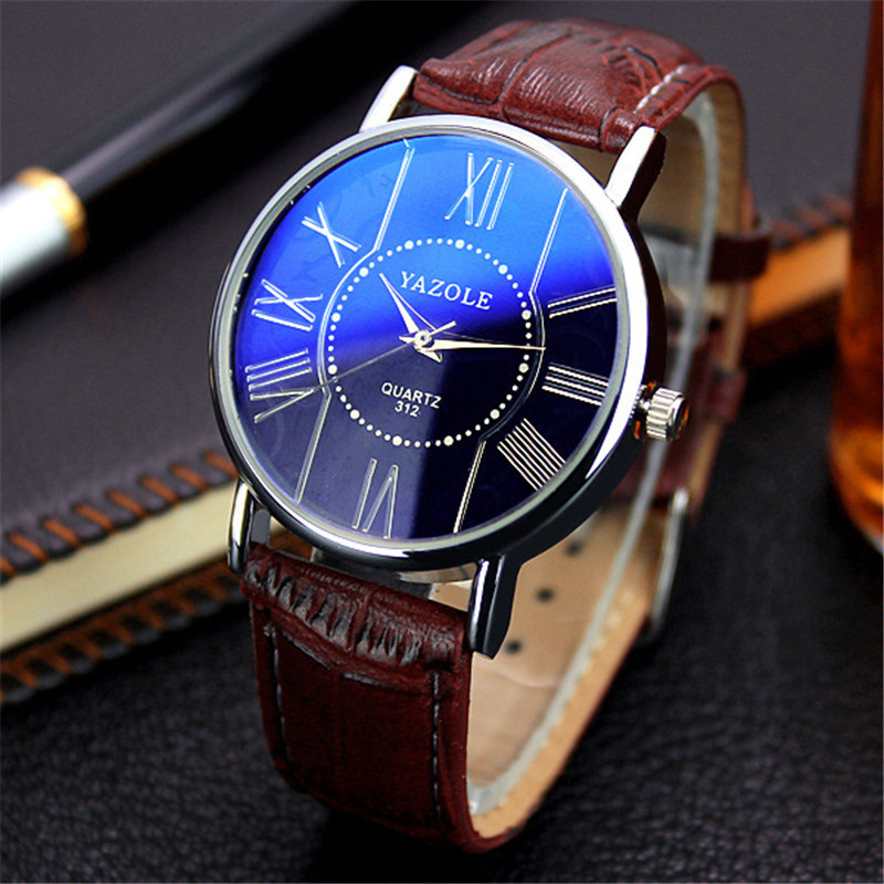Yazole Women Men Watches 2018 Famous Top Brand Luxury Fashion Style Leather Quartz Wrist Watch Female Clock Relogio Feminino