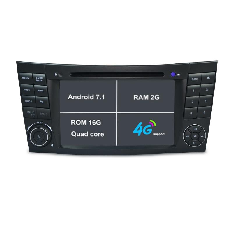 2g Ram Android 71 Car Dvd Player For E Class W211mercedesbenzcl Rhaliexpress: 2007 Mercedes E350 Radio Gps At Elf-jo.com