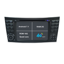 2G RAM Android 7.1 Car DVD Player For E-Class W211/Mercedes/Benz/CL Car Radio GPS tape recorder stereo headunit with bluetooth