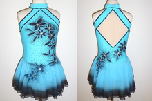 Adult Figure Ice Skating Dresses With Spandex Graceful New Brand Figure Skating Competition Dress DR4030