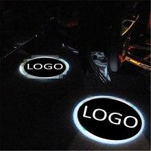 Jingxiangfeng чехол для Lexus чехол для Lancia 2 шт. LED Тюнинг автомобилей логотип приветствуется двери свет проектора Лазерная Призрак Тень Лампы