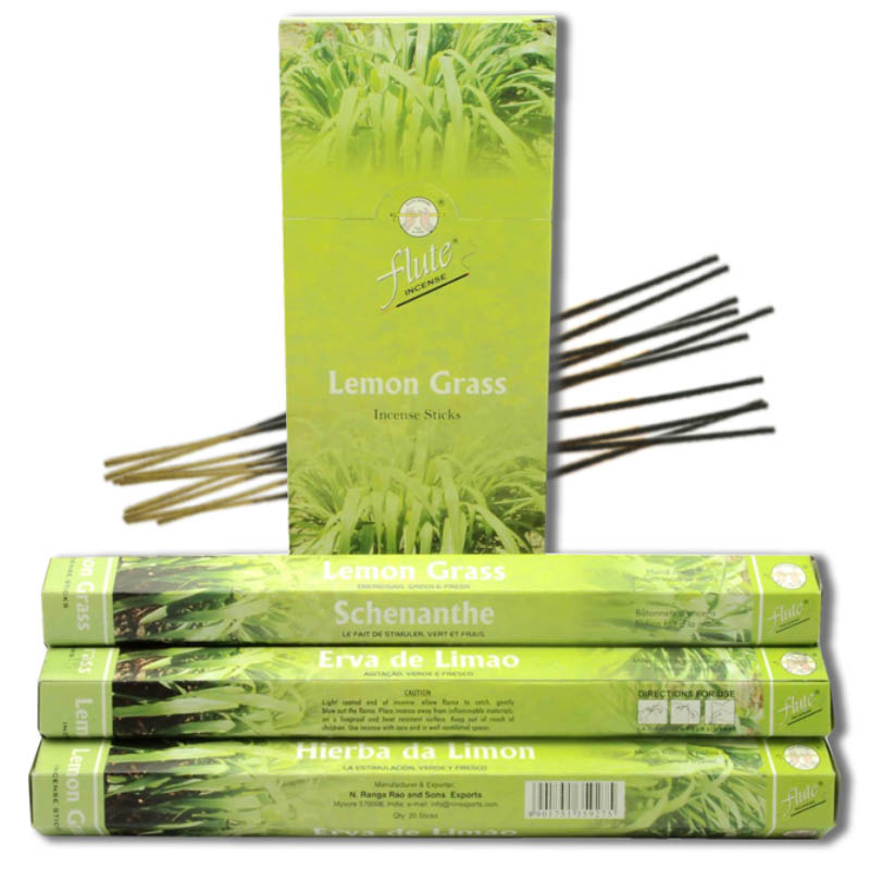 120 Sticks/Pack Lemon Grass Herbal Aroma Cored Incense Sticks Hand Rolled From Indian Burning in Office For Meditation