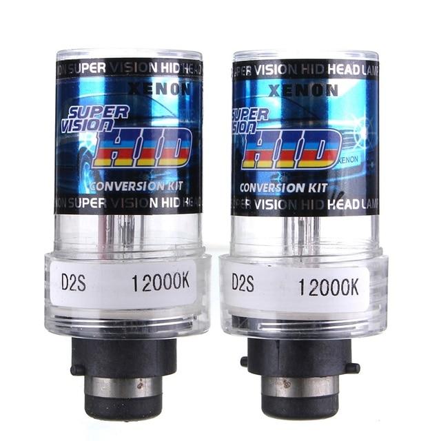 Durable 2X 35W D2S/D2C Car For HID Xenon Replacement Auto Light Source Headlight Lamp Bulb 4300K 5000K 6000K 8000K 10000K 12000K