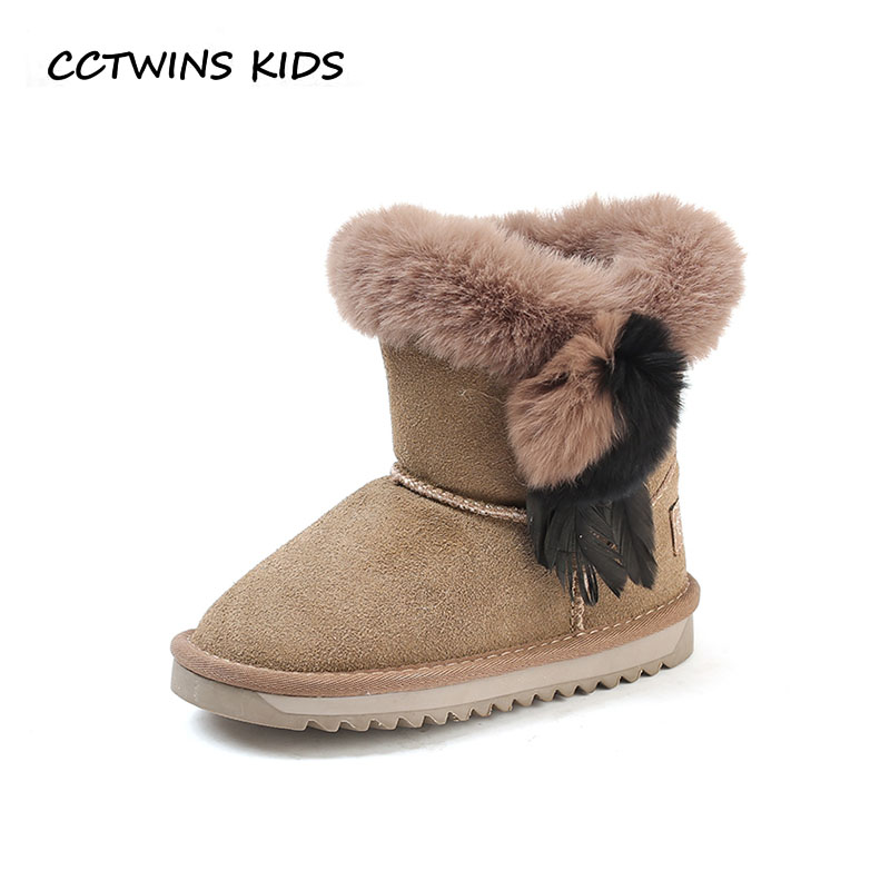 CCTWINS KIDS 2018 Winter Children Leather Suede Mid Calf Boot Toddler Fashion Snow Boot Baby Girl Brand Warm Shoe CS1624 cctwins kids 2018 autumn children rhinestone shoe baby girl brand mid calf boot toddler fashion black boot cf1500