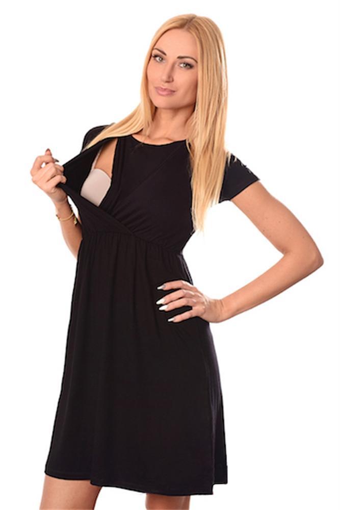 Pregnant Women Summer Short Sleeve Dress Soild Dresses Breastfeeding And Nursing Women Dresses Womens Tops Vestidos