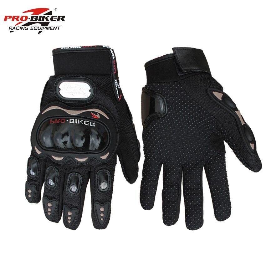 Moto Completa Finger Gloves Corse di Motocross di Protezione Guanti MX Guanto Ciclismo Motor Bike Guantes Luvas Pro-biker MCS-01C