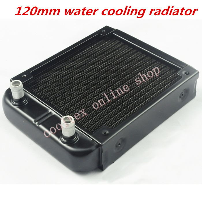 120mm water cooling radiator for computer Chip CPU GPU VGA RAM  Laser cooling cooler  Aluminum Heat Exchanger R120C aluminum water cooling 120 240 360 radiator liquid cooler for 120mm fan g1 4 heat exchanger cooled computer