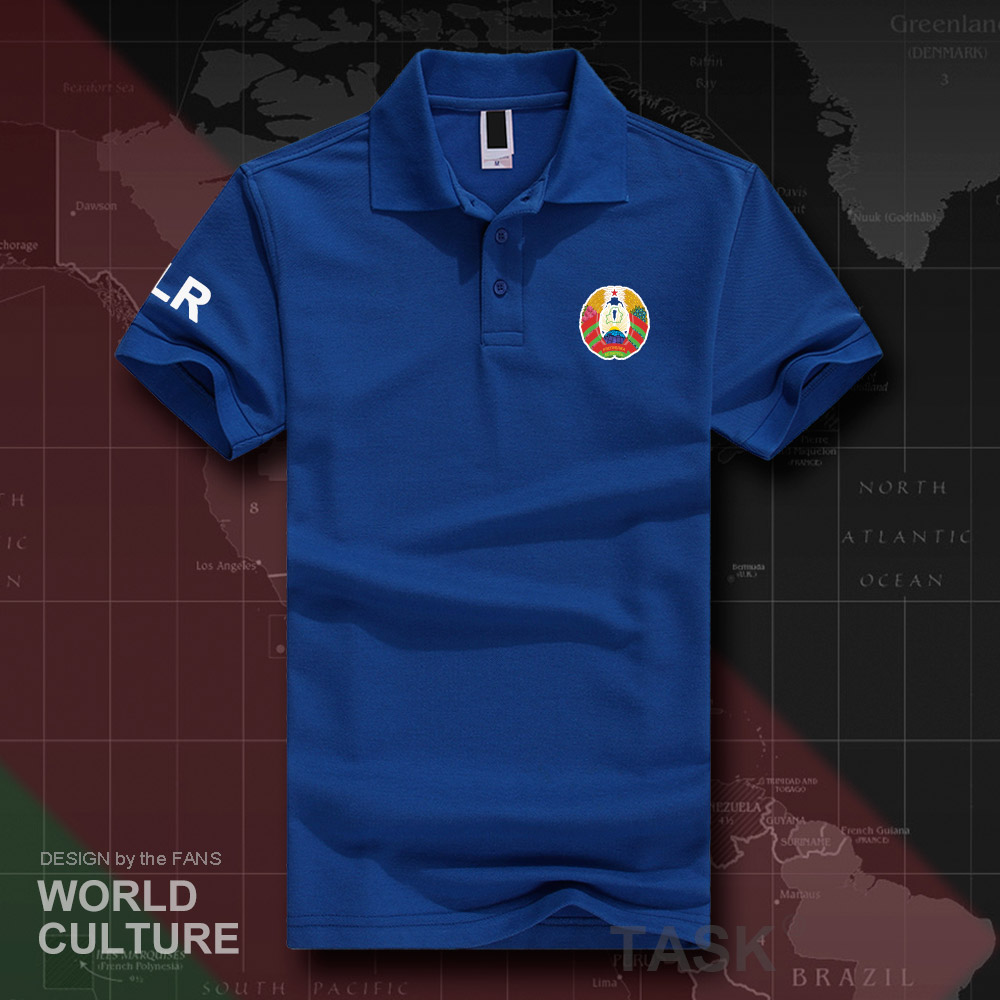 Republic of Belarus BLR   polo   shirts men short sleeve white brands printed for country 2018 cotton nation emblem new fashion