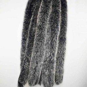 Image 5 - Fox Fur Collar Scarf Natural Fox Fur Collar for Hood 100% Real Fur Collar Scarf  Custom Made Winter Fur Scarf Ms.MinShu
