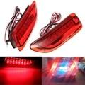 2x Freio Parada Cauda LEVOU Choques Refletor Traseiro Running Luz de Nevoeiro Para Toyota Corolla/Lexus CT200h