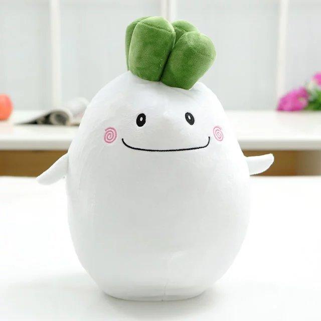 Aeruiy Cute Fruits & Vegetables Soft Pillow