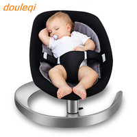 Baby rocking chair 0 4 years old, baby cradle sleep child artifact baby recliner chair