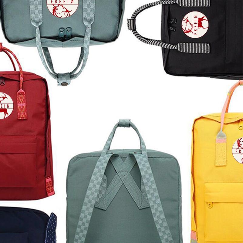 Kanken Waterproof Classic Backpacks Outdoor Travel Adventure Bag Large/Mini for Men Women Bags Original Design Backbags School
