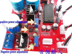 Image 5 - 12v 24v LM4610 HIFI Pre amp Preamplifier Tone Board bass treble balance volume OP275 OPAMP Volume Control