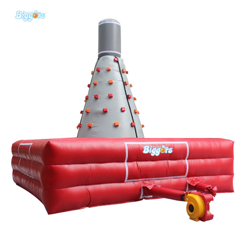 Sea Shipping Cheap Price Inflatable Sport Games Rock Climbing Wall  for Children commercial sea inflatable blue water slide with pool and arch for kids