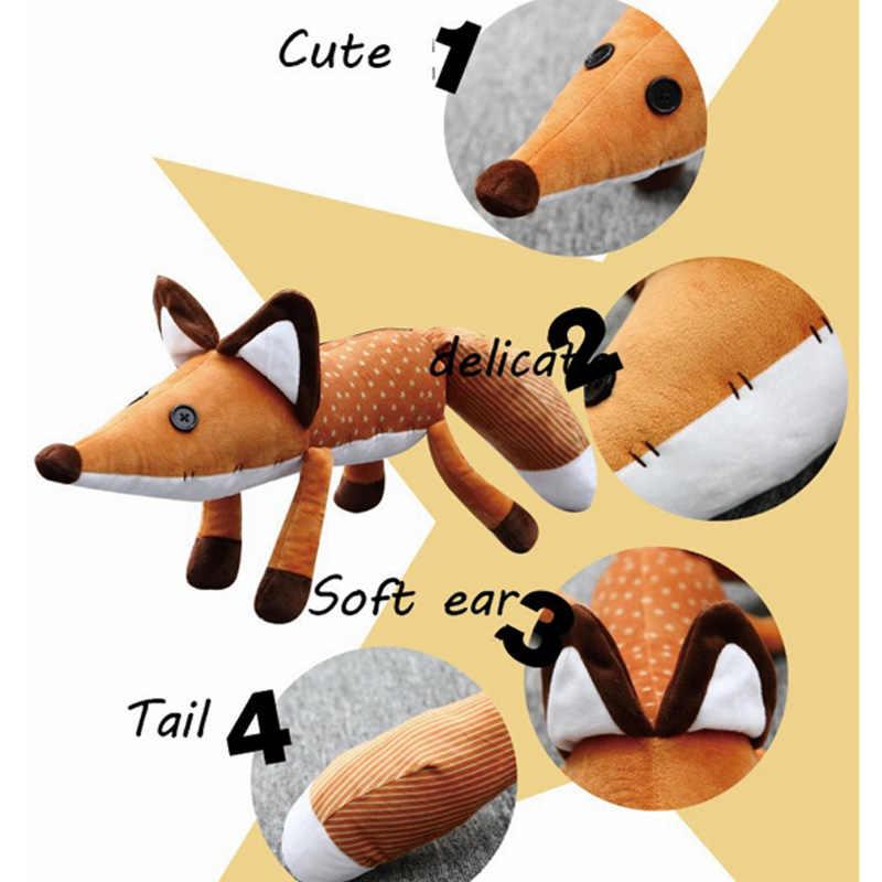 Nuovo 2 tipi 1 pz 45cm/60cm piccolo principe bambole di peluche la volpe animali di peluche giocattoli educativi di peluche regalo per bambini compleanno natale