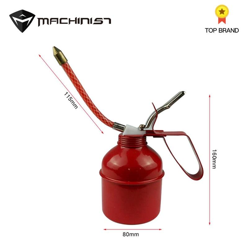 1 St 300cc Verf Spuitpistool Olie Pomp Blikjes Olieman Slang Vetspuit Machine Voor Smerende Airbrush Gereedschap Olie Kan Hand Reparatie Te