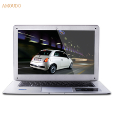 Amoudo-6C 8GB RAM+1TB HDD 14inch 1920*1080P FHD Windows 7/10 System Intel Quad Core CPU Ultrathin Laptop Notebook Computer