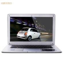 Amoudo 8 ГБ RAM + 1 ТБ HDD 14 дюйма 1920*1080 FHD P Системы Windows 7/10 Intel Quad Core CPU Ультратонкий Ноутбук Ноутбук