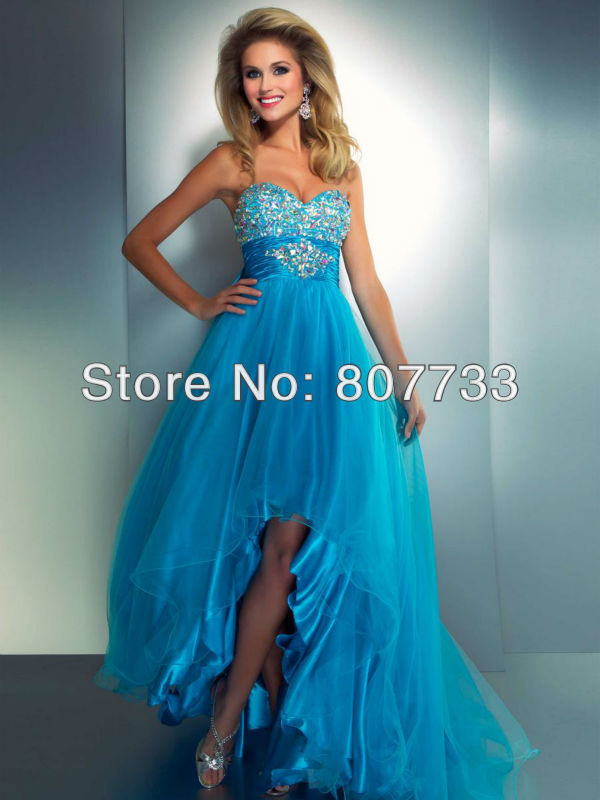 Neon Orange Prom Dresses 2014 - Missy Dress