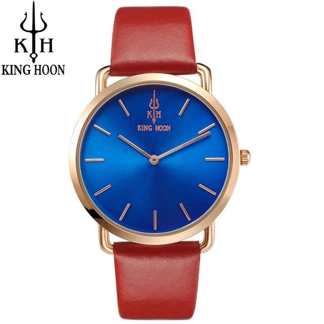 women watches Brand KING HOON Fashion quartz-watch Women Wristwatch clock relojes mujer dress ladies watch Business montre femme