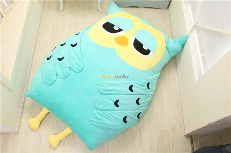 Fancytrader 200cm X 150cm Huge Giant Cute Hoot Owl Tatami Bed Carpet Sofa, Gift For Girls, Free Shipping FT90291 (10)