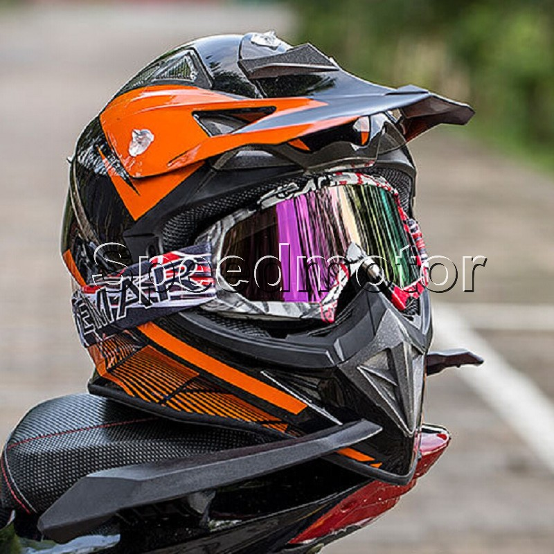 2018 NEW Motocross Glasses Off-Road Dirt Bike ATV DH MX Motorcycle Glasses Racing Eyewear Skiing Motocross Goggles Replaceable L