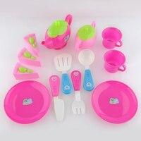 Quality 1 Set Plastic Teapot Pretend Play Toy Set Afternoon Tea Educational Teapot Fun Children Kid