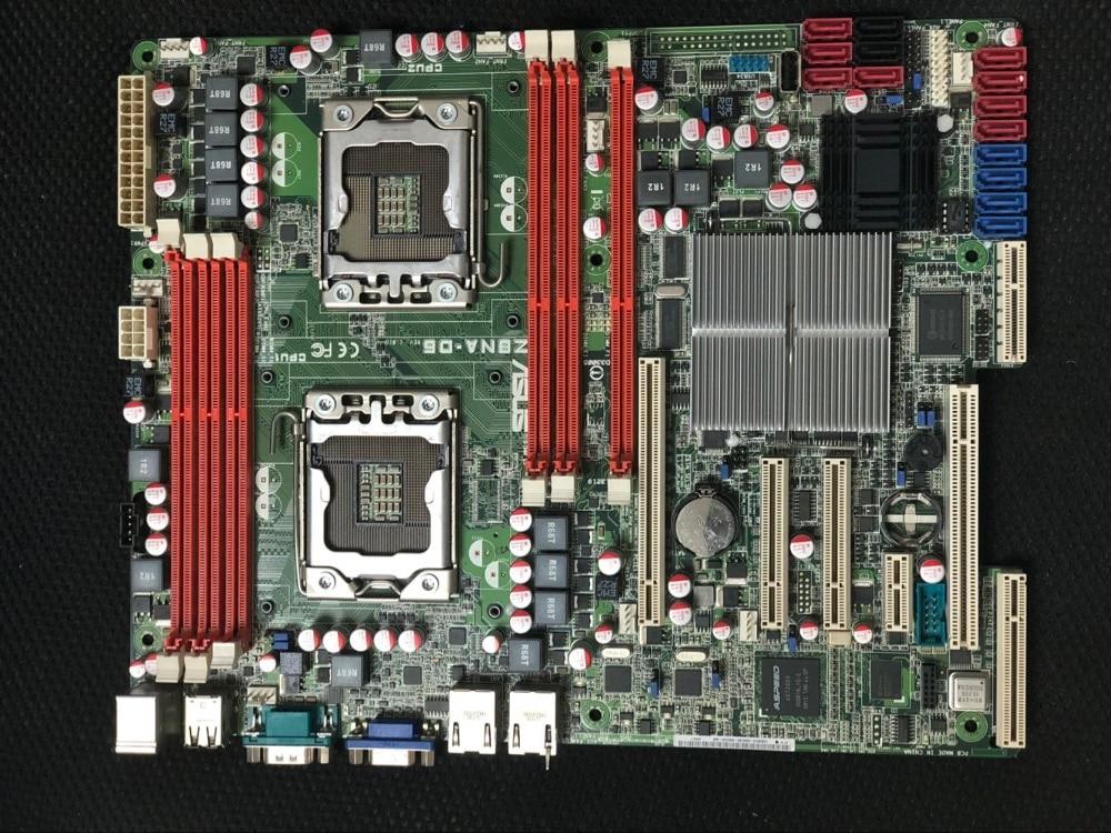 original motherboard ASUS Z8NA-D6 LGA 1366 DDR3 for Xeon 5500 cpu UDIMM 24GB,RDIMM 48GB Desktop motherboard Free shipping