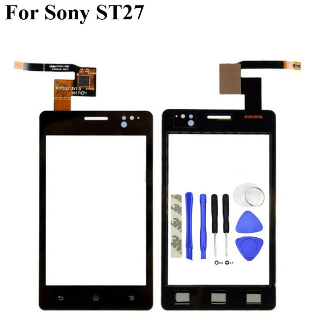 3.5'' Replacement Front Glass Touch Screen Digitizer For Sony Xperia Go ST27 ST27i ST27A P20 + tools